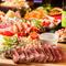 肉メインで食べ応えのある『5000円コース』