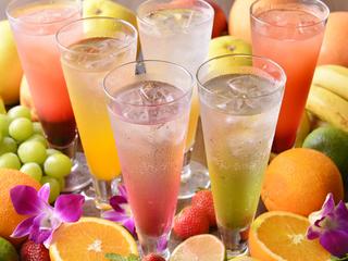 果実酒やカクテルが豊富☆飲み放題がお得!