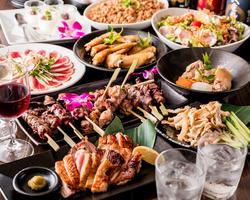 税抜価格。博多餃子が食べ放題に 定番から一風変わった創作餃子まで全8種類からお楽しみ頂けます!