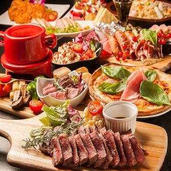 【毎日開催】樽生・ワインビュッフェ等120分飲み放題1800→777円