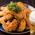 ビール片手に味わう、絶品鶏料理!