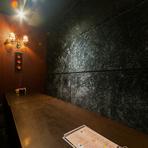 歓送迎会などにおすすめのシックな雰囲気の個室