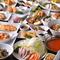 種類豊富な料理から選べる『食べ飲み放題』