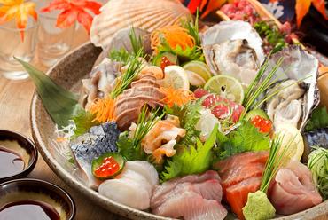 鮮度抜群の魚介を満喫できる一皿『旬のお刺身5点盛』