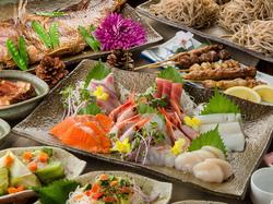 ※+500円で肉ずし追加可 ・和牛炙り寿司:1貫orローストビーフ寿司:2貫