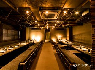 旬鮮魚と個室和食 別邸 膳屋 四日市店の料理・店内の画像2