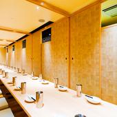 木を基調とした温かみと人気のデザイン個室