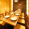 魅力的なお席と雰囲気抜群の寛ぎ個室