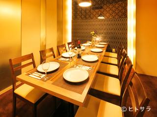 個室肉×チーズ Amore −アモーレ− 札幌すすきの店(創作料理)の画像