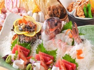 上質食材を使った本格和食を!最大3時間飲み放題付2980円~