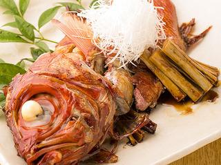 特別な調理法で鮮魚本来の味を引き出した和食料理