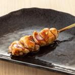 長葱の豚巻き炙り串(たれ・塩)