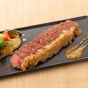 黒毛和牛のもも肉を使用。上質で柔らかな和牛の味が口いっぱいに広がります。