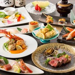 高級食材の数々を贅沢に使用した料理長自慢の逸品