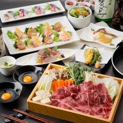 ワンランク上の食材を使用した上質な品々『炙り懐石コース』