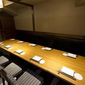 広々個室で合コンなど複数人でのお食事をおたのしみください