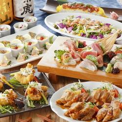 白身魚と若鶏料理が楽しめる