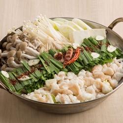 本格拘りスープの豚キムチ鍋『旬の味覚(鍋)コース』