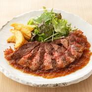 ジューシーな肉汁溢れる『若鶏の竜田揚げ』