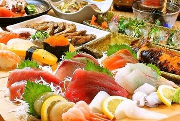 宴会等に最適なお得でボリューム満点なコース料理も豊富