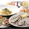 ランチもOK!お食事にピッタリ。牡蠣を存分に楽しめるコース料理です。