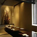 九州地方を中心とした焼酎と銘柄黒豚にて今宵、会社接待や会食シーンにも いかがですか。接待に相応しい席も多数ありますので、詳しくは店舗までお問い合せください。