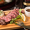 肉好きにはたまらない贅沢メニュー『牛ハラミのステーキ(シャリアピン/ピンクソルト)』