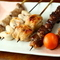 焼き物や鍋など、鶏を存分に楽しむコース料理