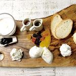フロマージュブラン/リコッタチーズ/カッテージチーズ/マスカルポーネ/モッツァレラチーズ