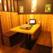 当店では全室、雰囲気の良い掘りごたつの完全個室でご用意