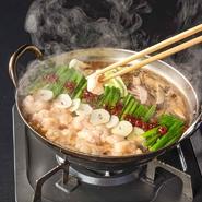 こだわりの「和牛もつ」がやみつきになる美味しさ! 絶対に食べて欲しい逸品! 醤油・味噌・柚子塩からお味をお選びください。※二人前からご注文承ります。