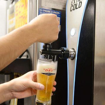 生ビールやレモネードカクテルなど『2時間単品飲み放題』1200円