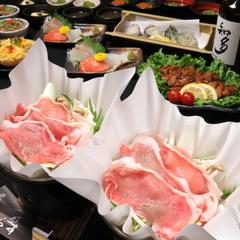 クーポンご利用で500円引!! 旬の食材を使った郷土料理をお楽しみ頂けます。