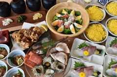 山陰地方の季節の食材が楽しめるコースです! <全9品> クーポン利用で4480円⇒3980円