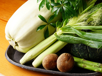 四季折々の新鮮な野菜を厳選