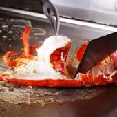 プリプリとした食感が堪らない! 絶妙な火入れがおいしさの秘訣