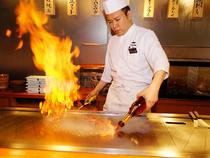 目の前にいるお客様一人ひとりに心を込めた料理を提供