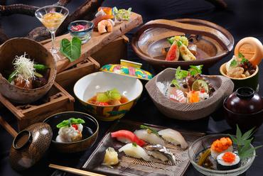 寿司と京料理を堪能できる『源氏』11品