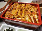 愛知県産銘柄鶏 ハーブ飼育『木曾美水鶏』を使用し、低カロリー・高たんぱく質なヘルシーなひつまぶしです。 脂が苦手な方はこちらでさっぱりとお召し上がりください。