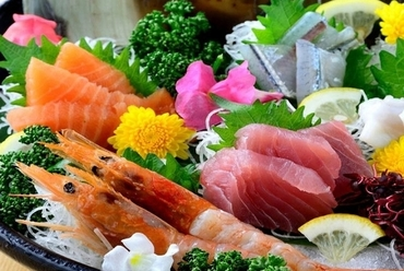 厳選食材を使用したお料理の数々