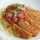 博多ふくや明太子と魚介のスパゲッティー イクラ添え