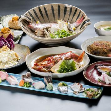 【TOC-TOC】の福岡のうまい魚を堪能『5000円飲み放題コース』