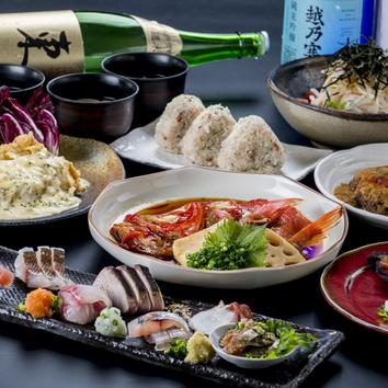 福岡のうまい魚を堪能『3500円コース』