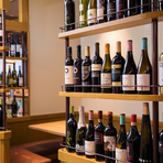 オリジナルワインをはじめ、充実したラインナップのワイン