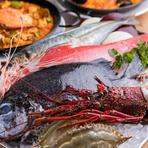 地元の食材と本場の食材から生まれる、スパニッシュスタイル