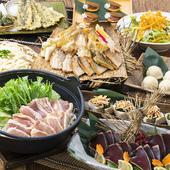 飲み放題付きコース料理で、宴会を楽しく盛り上げましょう!