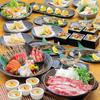 さっぱり食材の良質素材コース。急なご宴会や飲み会に最適なリーズナブルな価格