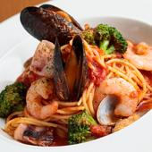 食感の良いパスタと魚介の旨みが絶品『ペスカトーレ 魚介のトマトソース』