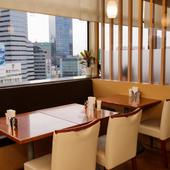 12階から眺める綺麗な景色・夜景を楽しめるレストラン