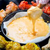 名物『チーズチェゴチキン』は全16種のフレーバー!